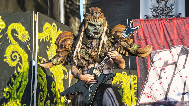 GWAR CNN pandemic interview