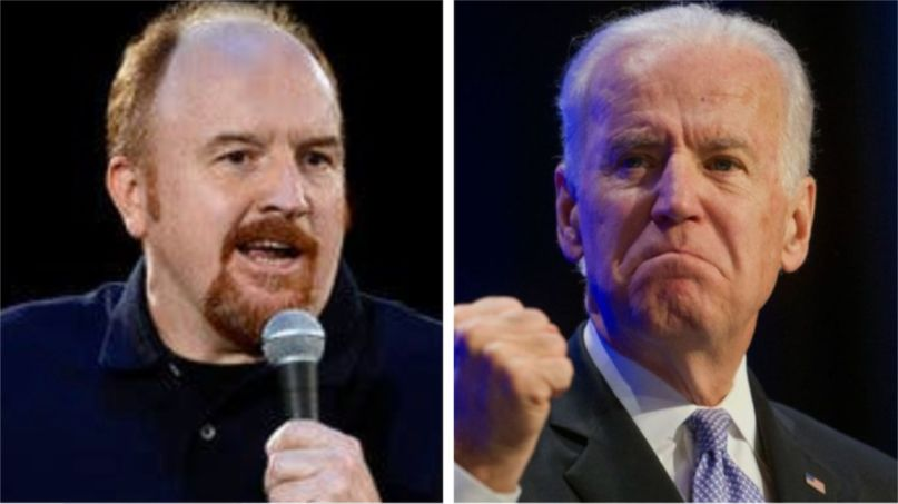 Joe Biden Louis C.K. donation presidential campaign Louis CK donations