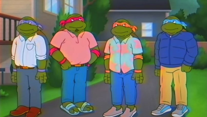 Middle-Aged Mutant Ninja Turtles