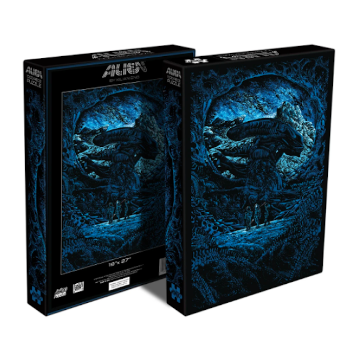 Puzzle Alien Mondo Announces Puzzles Based on Jurassic Park, Die Hard, The Iron Giant and More