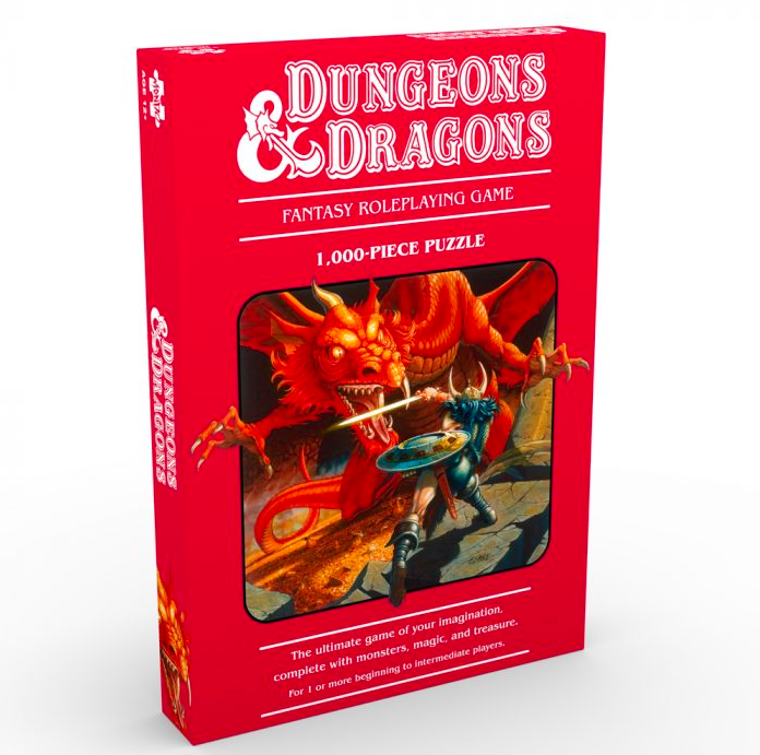 Puzzle Dungeons Dragons e1586301308916 Mondo Announces Puzzles Based on Jurassic Park, Die Hard, The Iron Giant and More