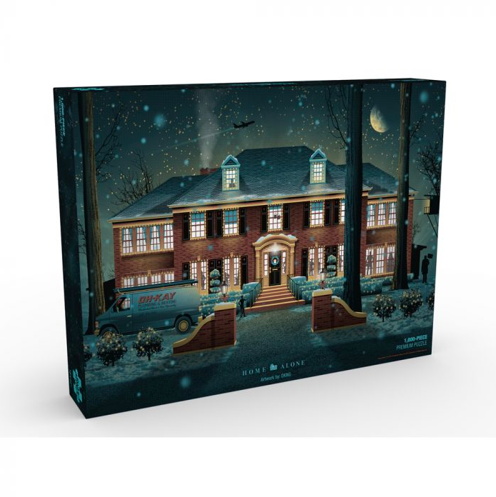 Puzzle Home Alone Mondo Announces Puzzles Based on Jurassic Park, Die Hard, The Iron Giant and More