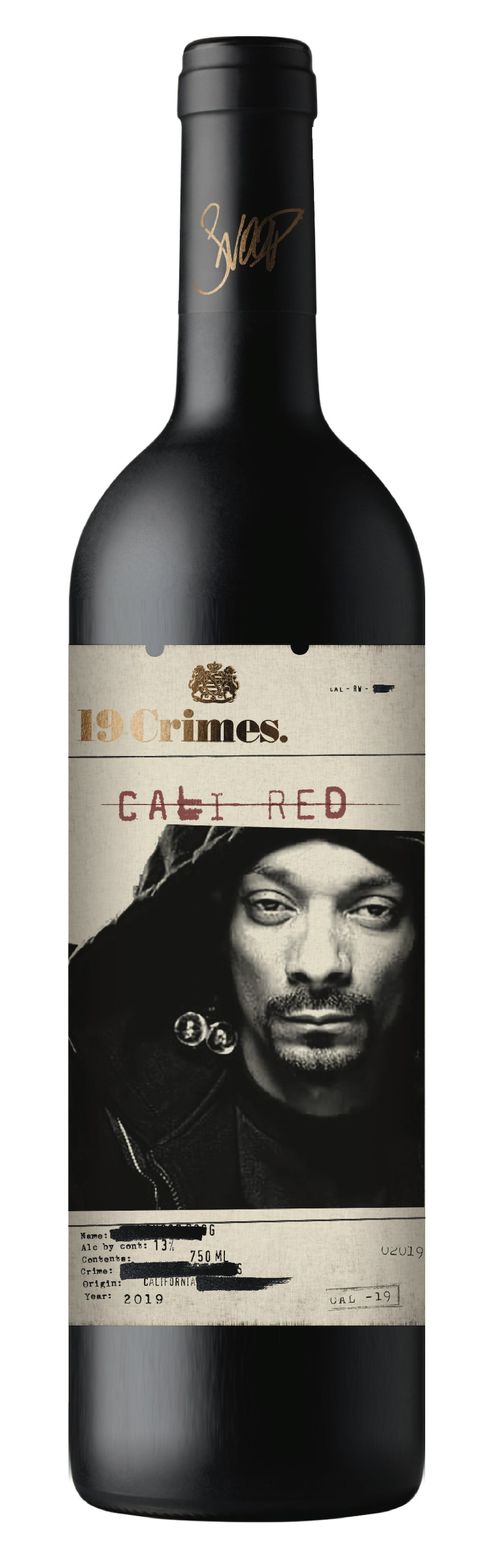 """""""Snoop Cali Red"""" by 19 Crimes Snoop Dogg"""