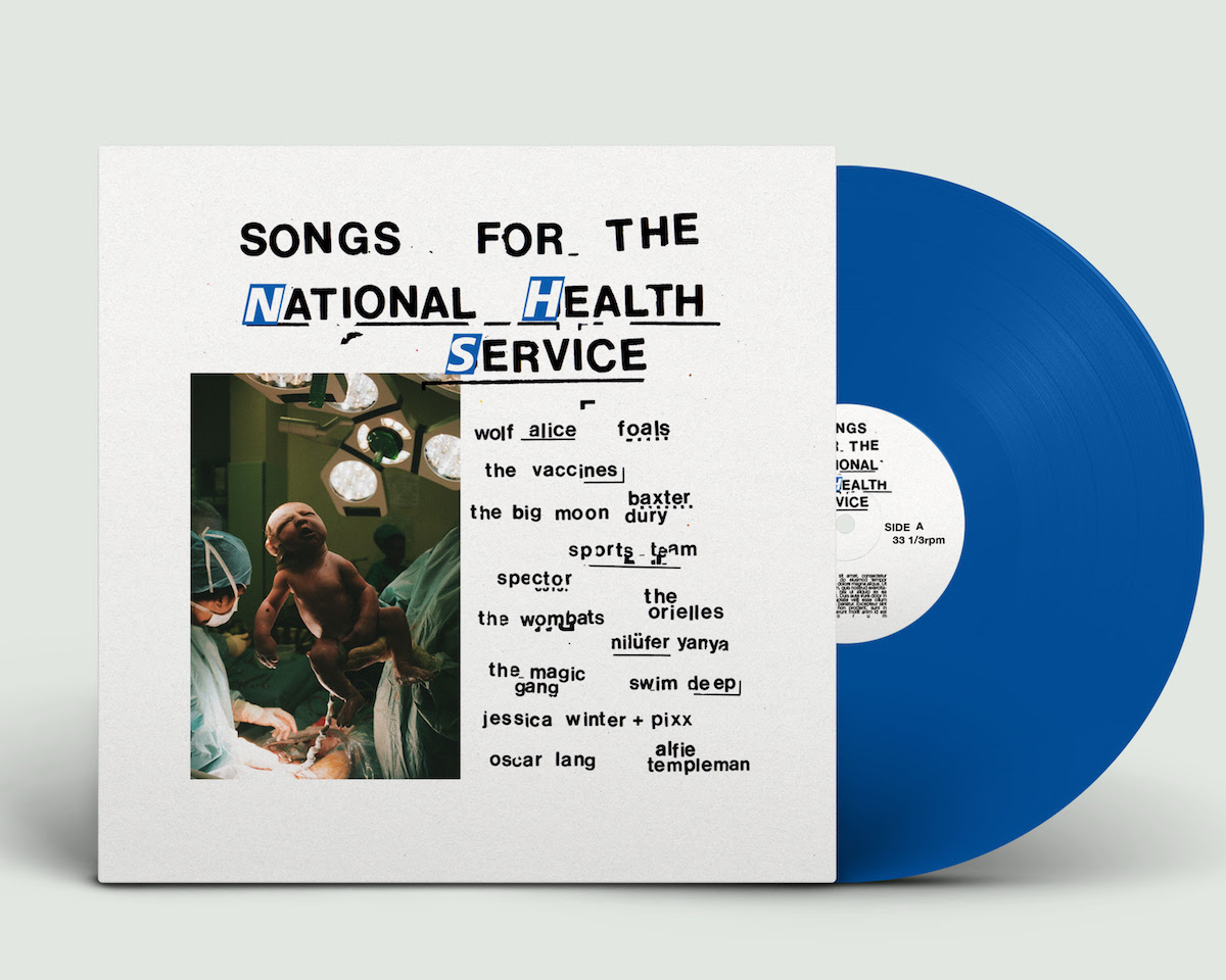 Songs for the National Health Service album artwork