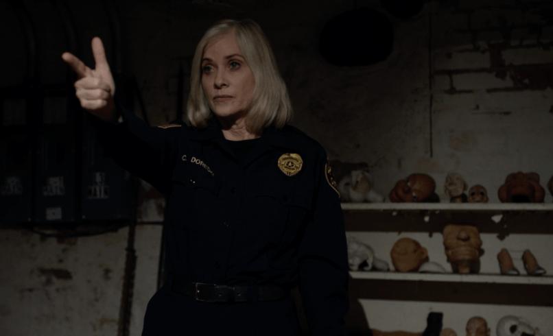 Barbara Crampton in Pupper Master: The Littlest Reich