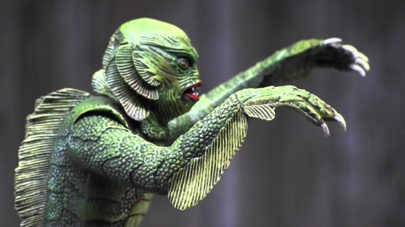 The Creature from the Black Lagoon Model