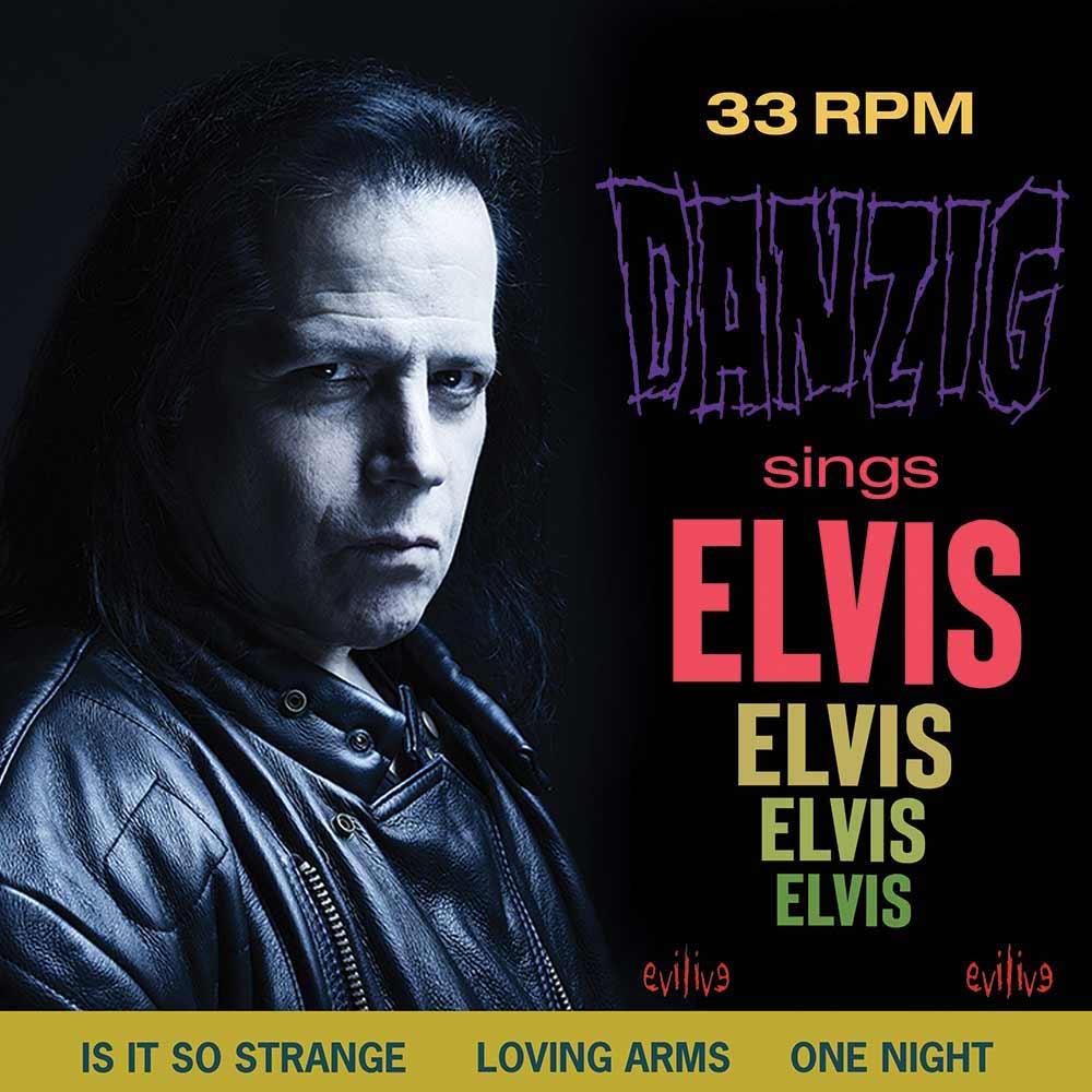 danzig sings elvis album new artwork Glenn Danzig Reveals New Covers Album Danzig Sings Elvis: Stream