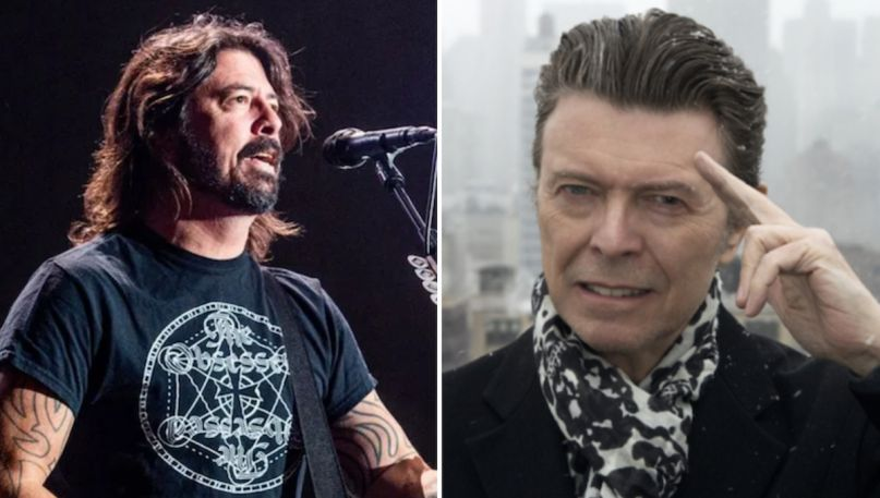 dave grohl foo fighters david bowie story