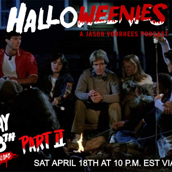 Halloweenies Watch-Along of Friday the 13th Part 2