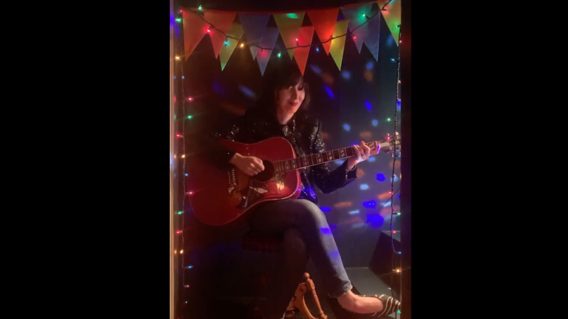 karen o our time quarantine livestream video