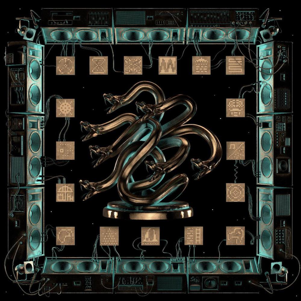 king gizzard chunky shrapnel live album artwork King Gizzard and the Lizard Wizard Announce New Live Album Chunky Shrapnel and Concert Film