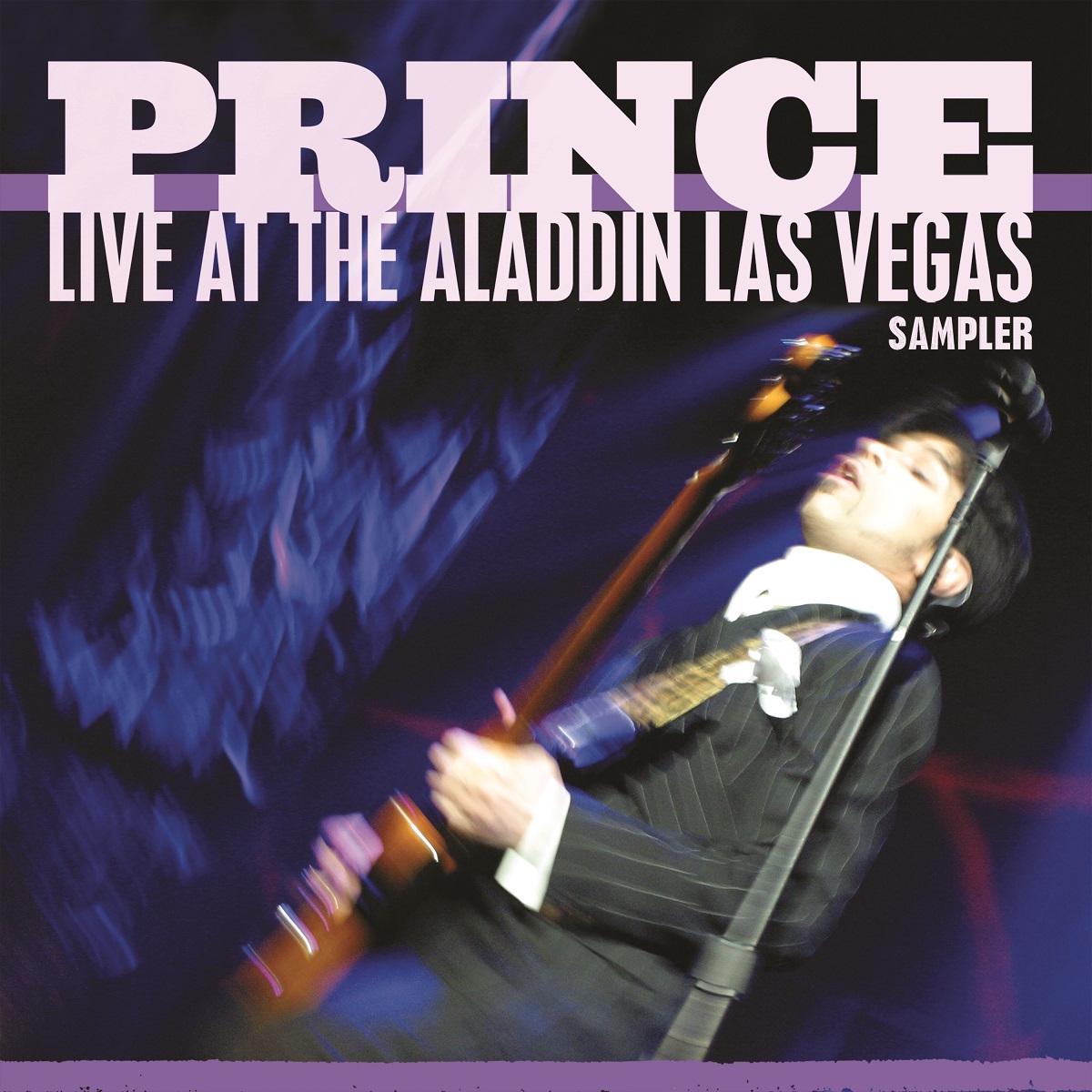 prince live aladdin sampler stream release Princes Rare Live at the Aladdin Las Vegas Sampler Finally Released: Stream