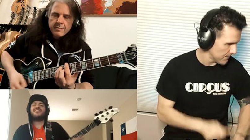 Anthrax, Testament, and Suicidal Tendencies Members Cover RUSH