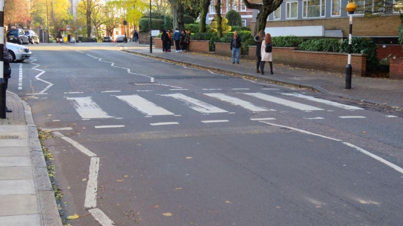 Abbey Road Crosswalk, photo by Lindsay Teske