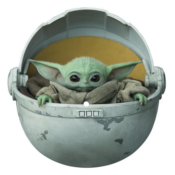 The Child die-cut The Mandalorian Baby Yoda vinyl (Disney)