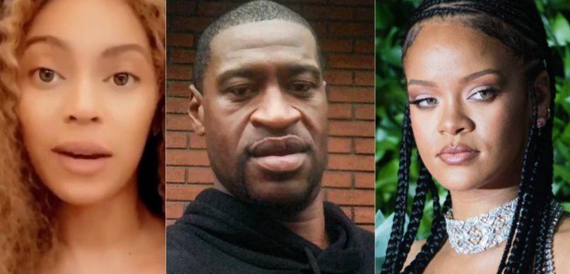 Beyonce, George Floyd, and Rihanna