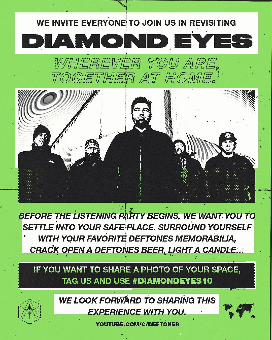 Deftones Listening Party for Diamond Eyes