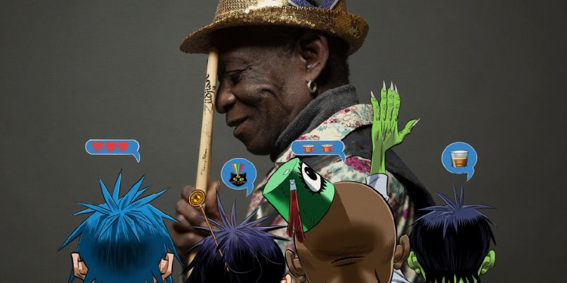Gorillaz and Tony Allen