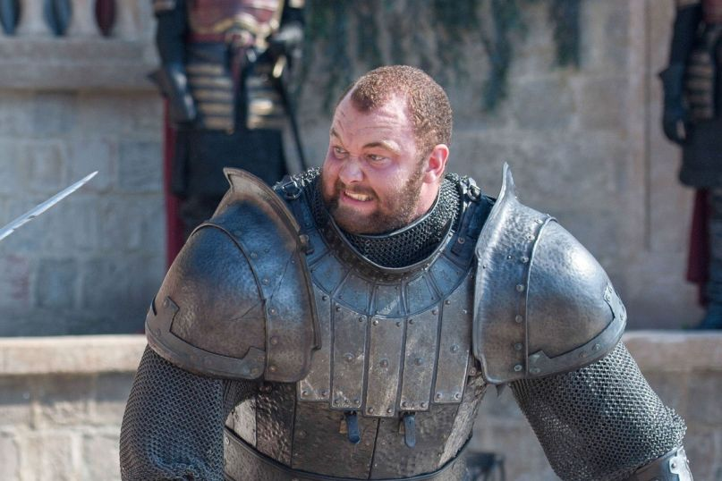 Hafthor Bjornsson on Game of Thrones