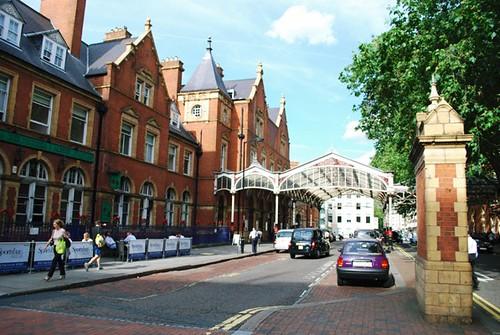 Marylebone Station by Hugh Llewelyn