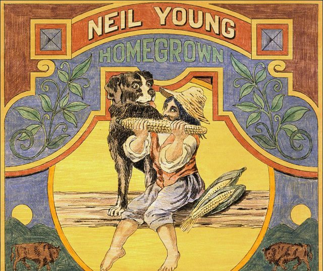 Neil Young Homegrown artwork
