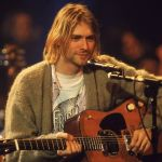 Nirvana on MTV Unplugged Kurt Cobain guitar auction million