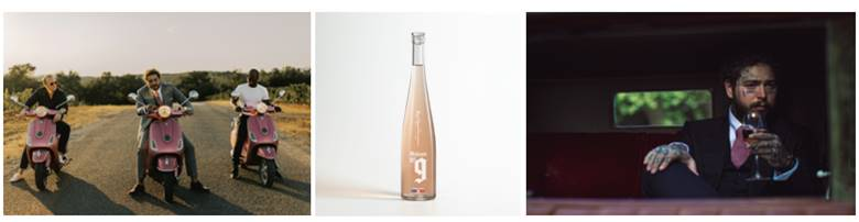 Post Malone Rose Oh God, Post Malone Is Selling Rosé