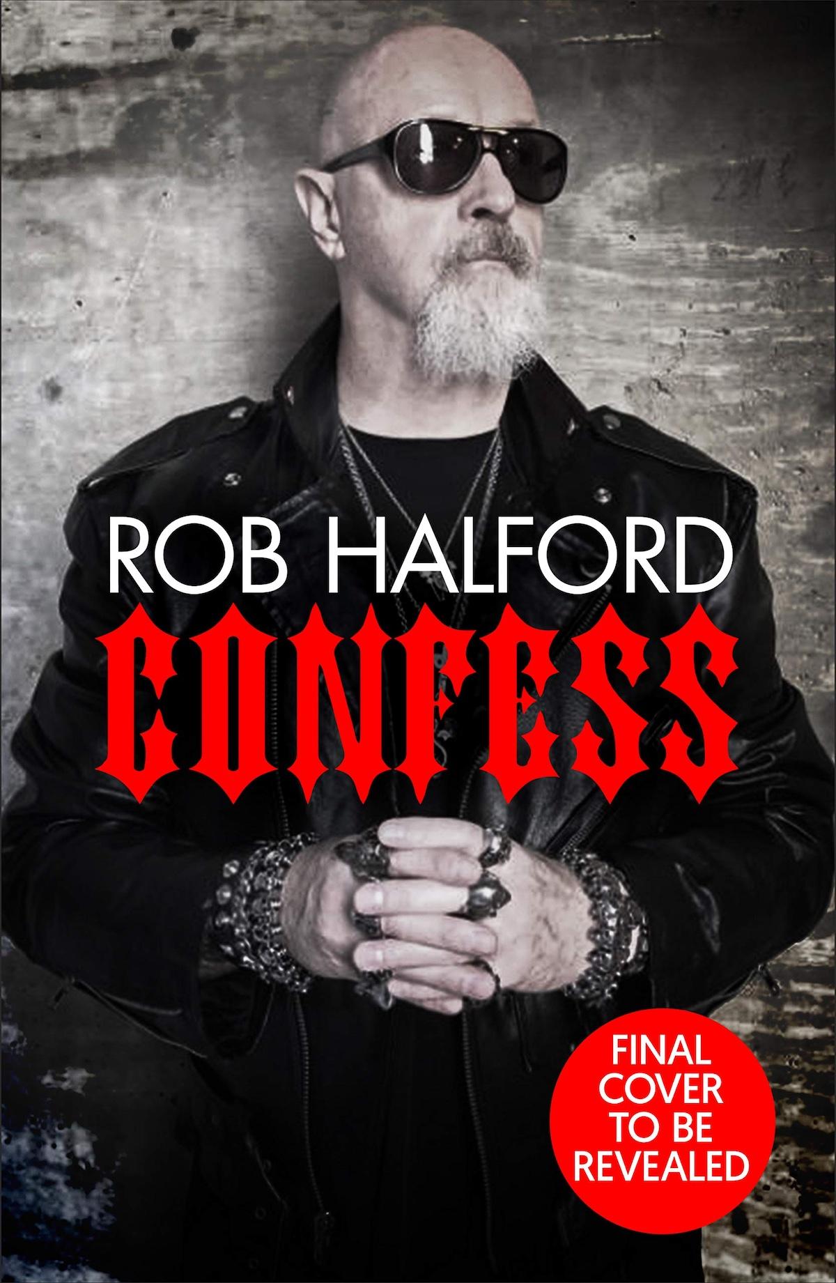 Rob Halford Non Final Book Cover