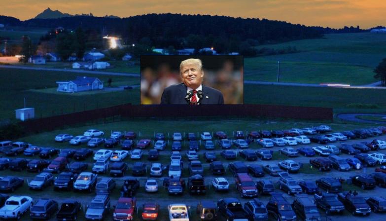 Trump Drive-In Movie Theater