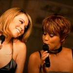 Whitney Houston and Mariah Carey