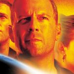 Bruce Willis Wears Armageddon Suit