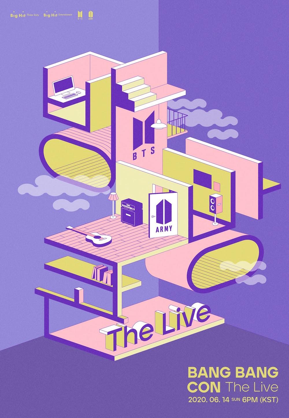 bts bang bang con the live concert livestream details BTS Announce Concert Livestream BANG BANG CON The Live