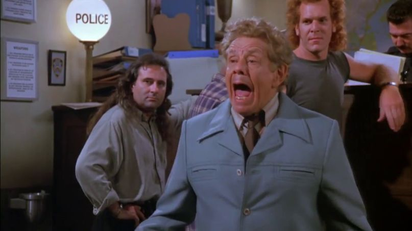 Frank Costanza Blooper