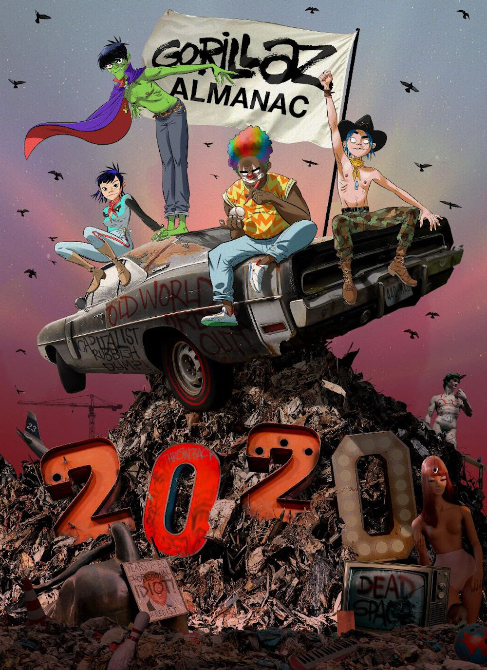 gorillaz almanac book 20 years Gorillaz Celebrate 20 Year Visual History with New Almanac