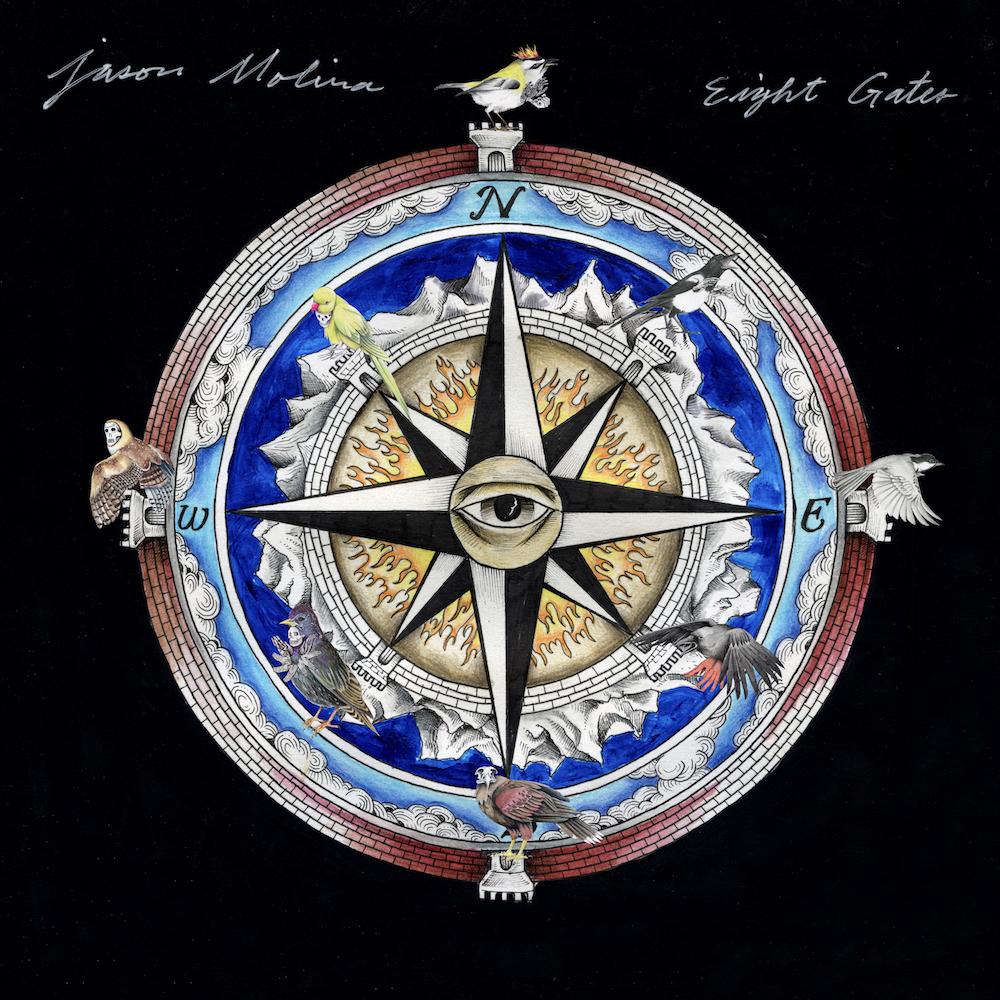 jason molina eight gates artwork cover Posthumous Jason Molina Album Eight Gates Due Out This Summer