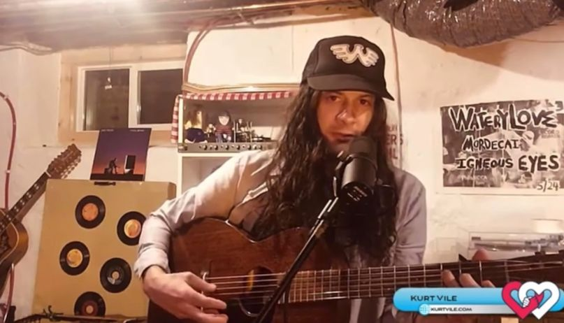 kurt-vile-cover-john-prine-stone-video-watch-love-philly-livestream