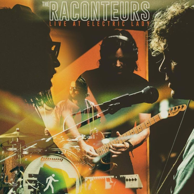raconteurs live electric lady new art The Raconteurs Release New EP and Documentary, Live at Electric Lady: Stream