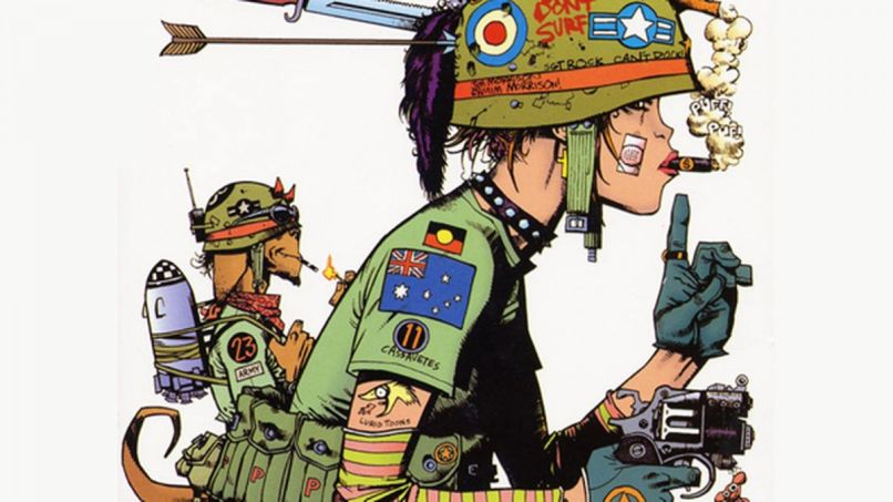 Tank Girl by Jamie Hewlett