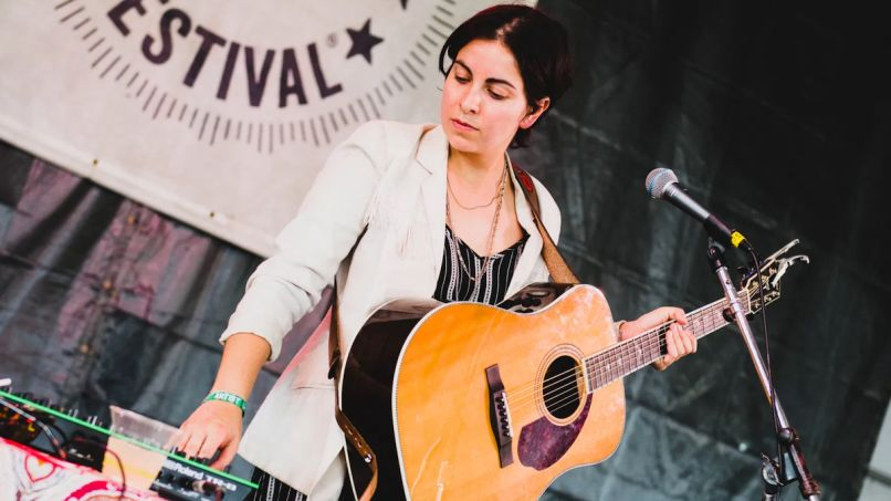 Becca Mancari with Bermuda Triangle Newport Folk Festival 2018 Ben Kaye The Greatest Part