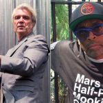 David Byrne (photo by Caroline Daniel) and Spike Lee