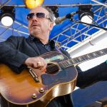 Elvis Costello No Flag new song lyrics new music lyric video, photo by Ben Kaye
