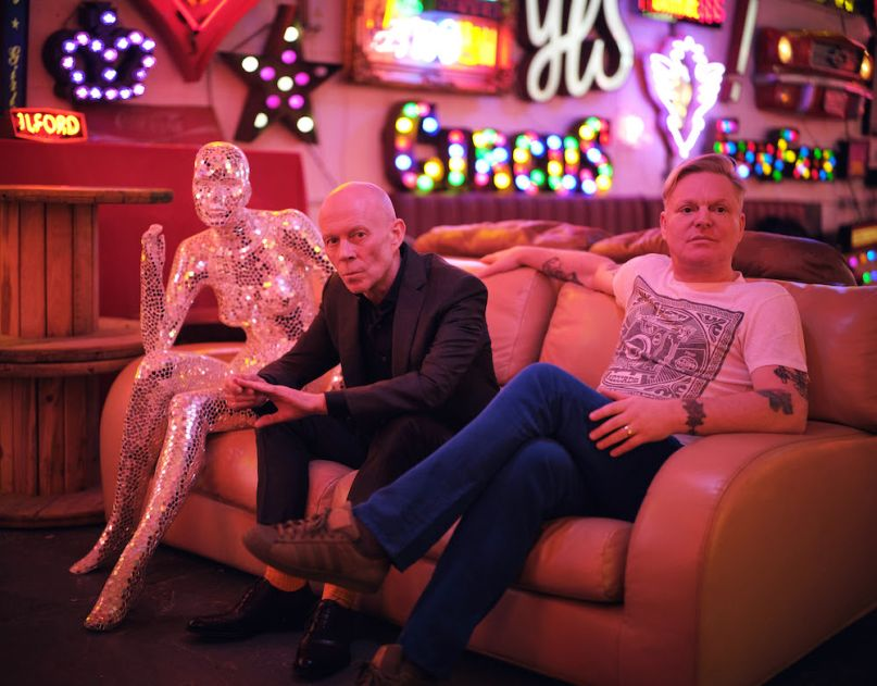 Erasure, photo by Phil Sharp