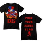 "Insane Clown Posse's ""Fuck Your Rebel Flag"" t-shirt"