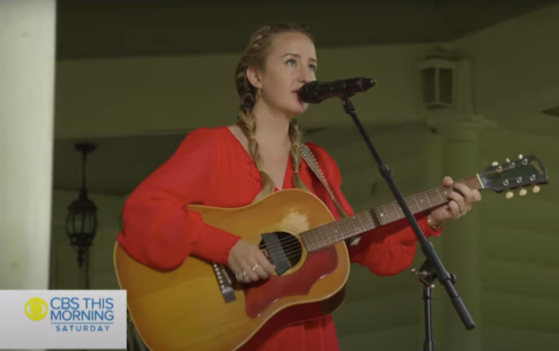Margo Price Bob Dylan Cover Letting Me Down CBS This Morning Things Have Changed Drifter