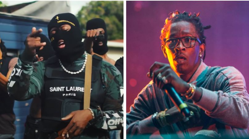 RMR Young Thug RASCAL remix (photo by Philip Cosores)