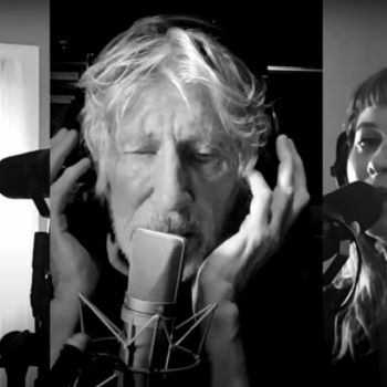 """Roger Waters performs """"Two Suns in the Sunset"""" in quarantine"""