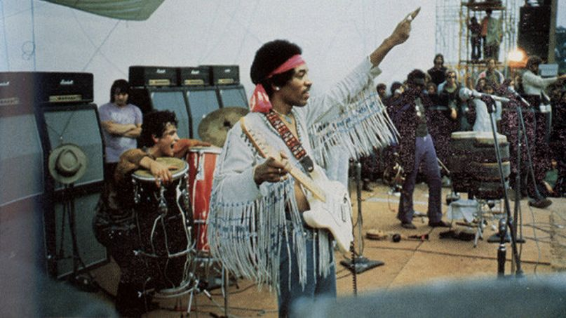 Jimi Hendrix Wood Stock