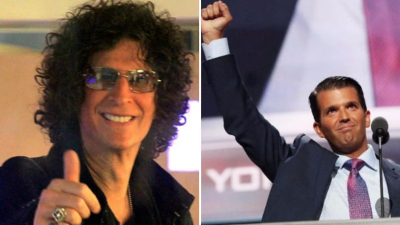 howard stern donald trump jr blackface ted danson