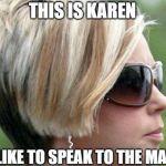 no-one-naming-baby-karen-meme-manager