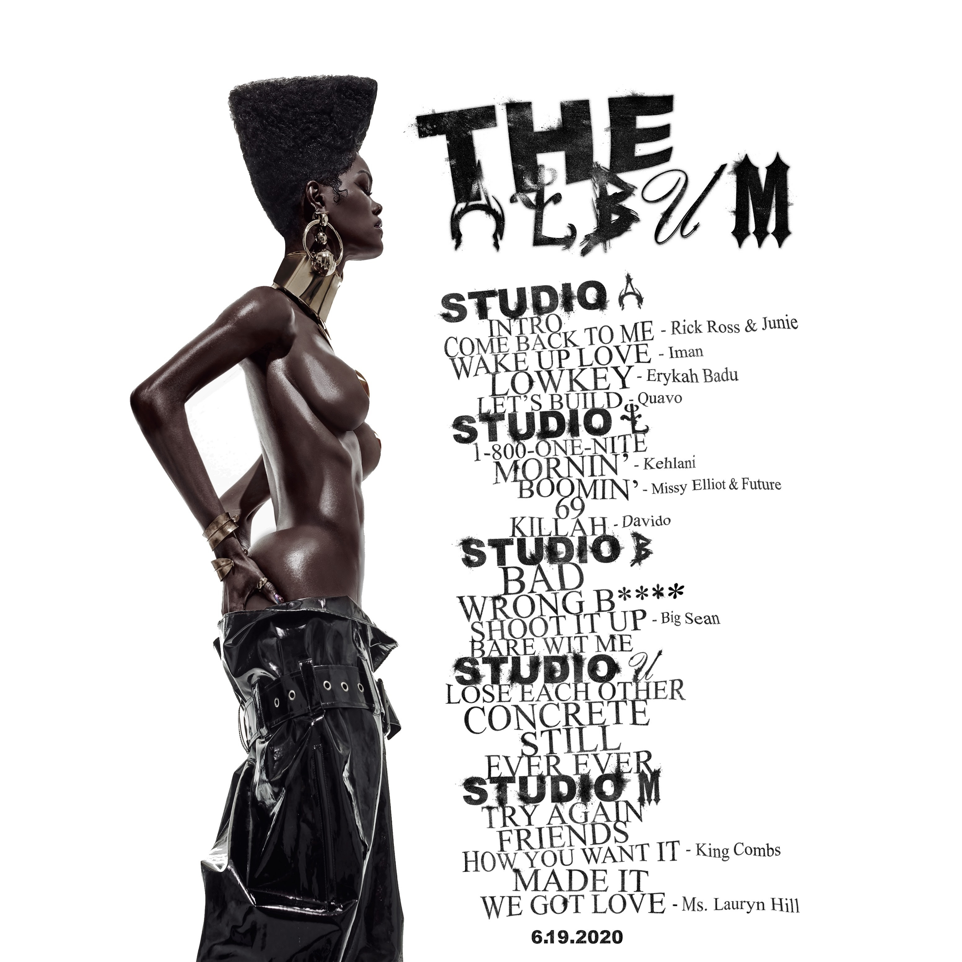 teyana taylor the album announcement new cover tracklist